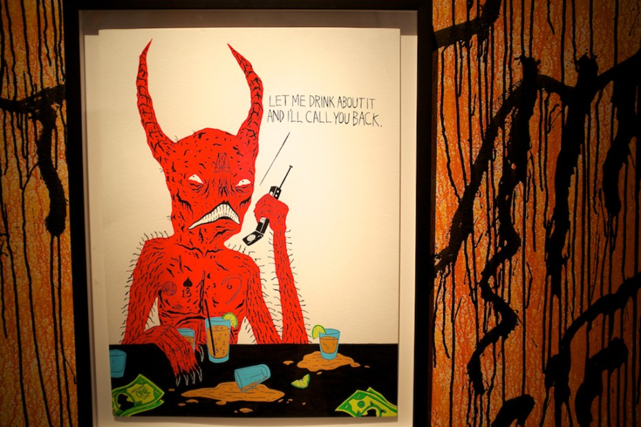 """Image of Neck Face """"No Mercy For The Weak"""" Exhibition @ New Image Art Gallery Recap"""