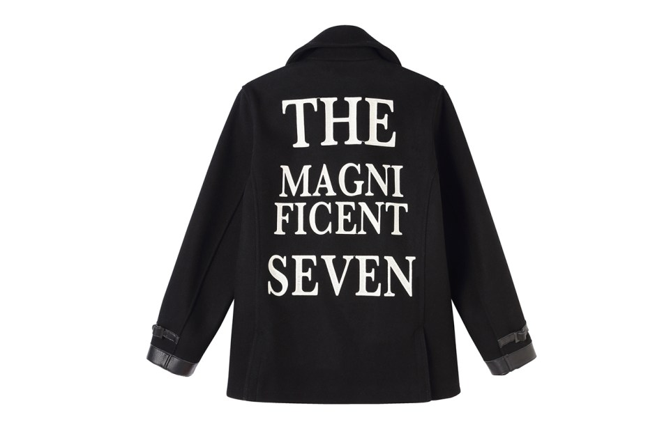 "Image of NEIGHBORHOOD ""The Magnificient Seven"" Pea Coat for BLACK SENSE"