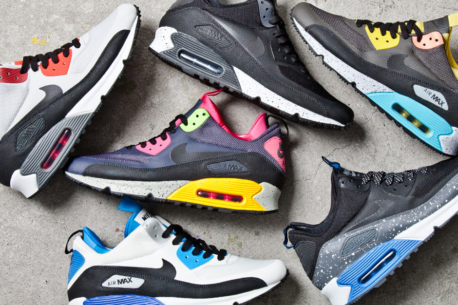 Image of Nike 2013 Air Max 90 SneakerBoot Collection