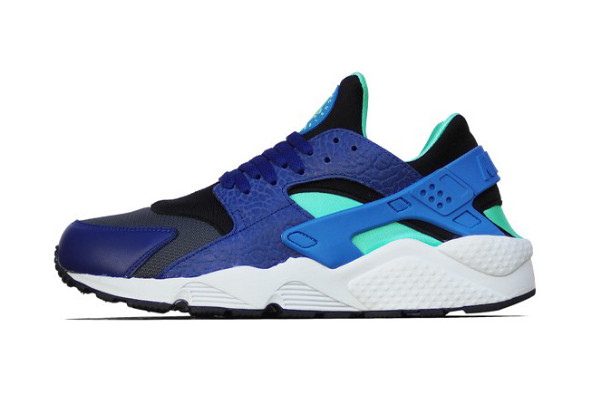 Image of Nike Air Huarache Deep Royal Blue/Blue Hero-Green Glow-Black