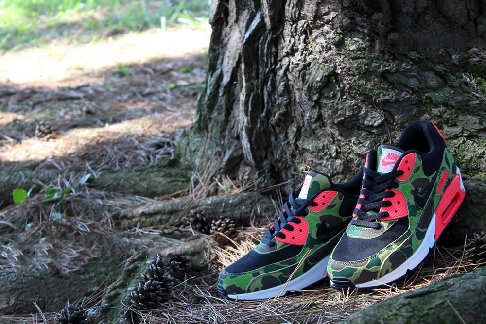 Image of Nike Air Max 90 Premium Duck Infra Camo *atmos Exclusive
