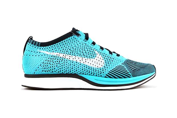 Image of Nike Flyknit Racer Turquoise/White/Black