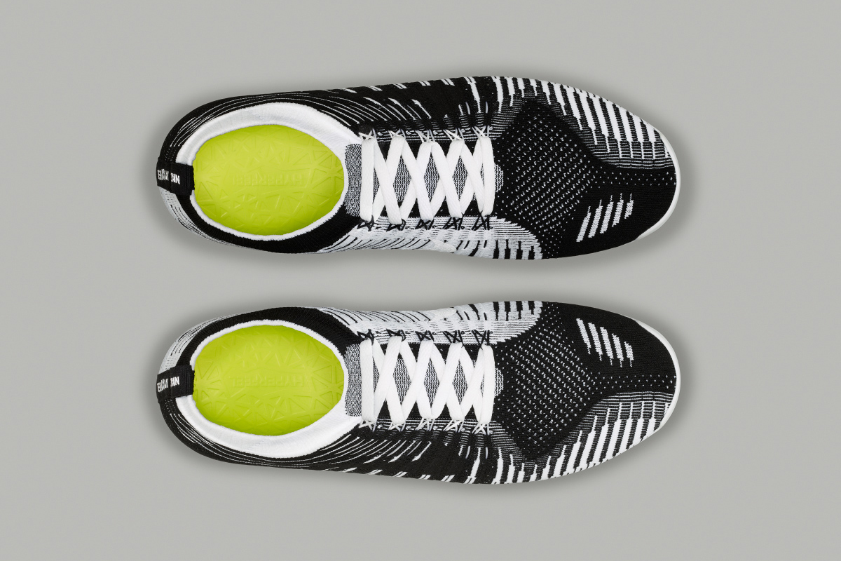 Image of Nike Free Hyperfeel Black/White