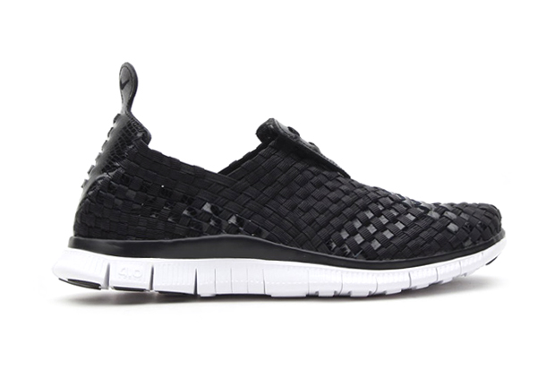 Image of Nike Free Woven 4.0 atmos Exclusive Black/Black-Orange Blaze