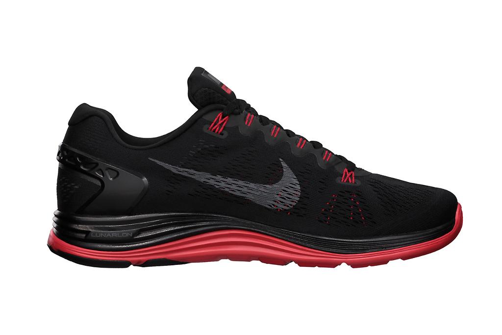 """Image of Nike LunarGlide+ 5 """"BLK"""" Pack"""