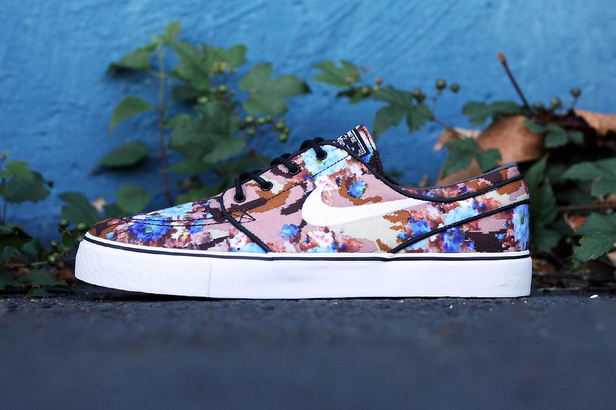 "Image of Nike SB Stefan Janoski ""Desert/Blue Digi Floral Camo"""