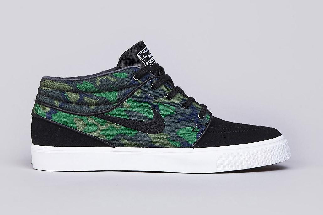 "Image of Nike SB Zoom Stefan Janoski Mid ""Camo"""