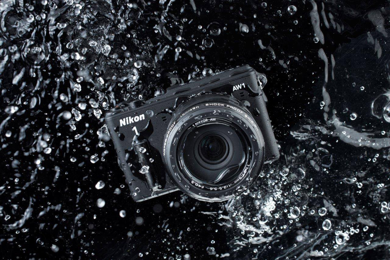 Image of Nikon 1 Waterproof Compact AW1 Camera