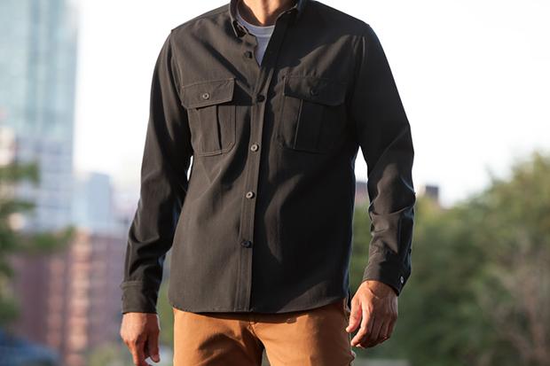 Image of Outlier Ripstop Merino Heavy Shirt