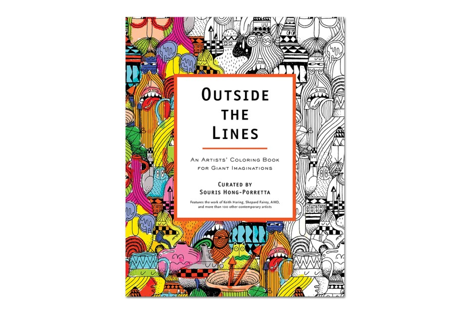 Image of OUTSIDE THE LINES: An Artists' Coloring Book for Giant Imaginations Launch @ MOCA