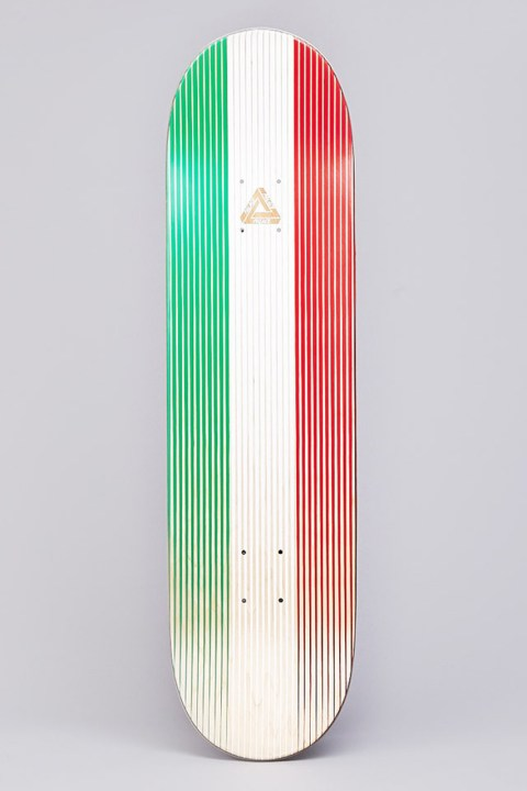"Image of Palace Skateboards Italy Team Deck - ""Linear Italia"""