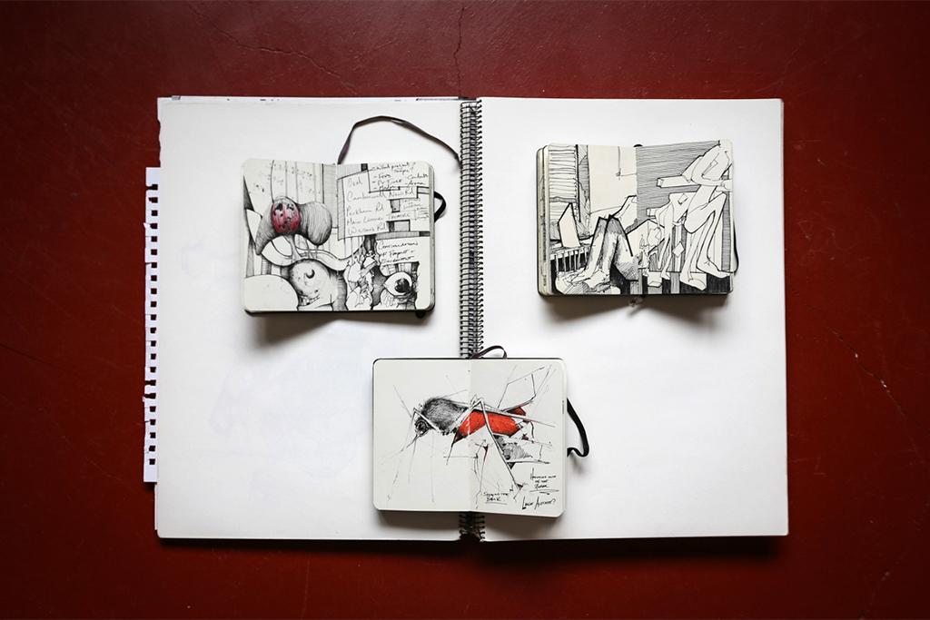 Image of Pen & Paper: Kyle Henderson