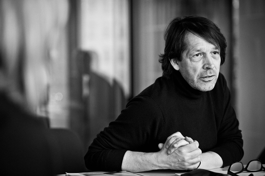 Image of Peter Saville to Design Identity for Kanye West