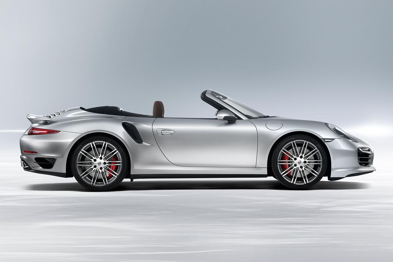 Image of Porsche 2014 911 Turbo Cabriolet & 911 Turbo S Cabriolet
