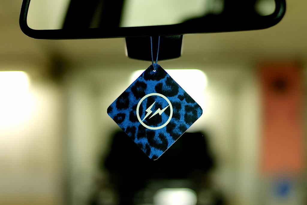 Image of retaW × fragment design Fragrance Car Tag
