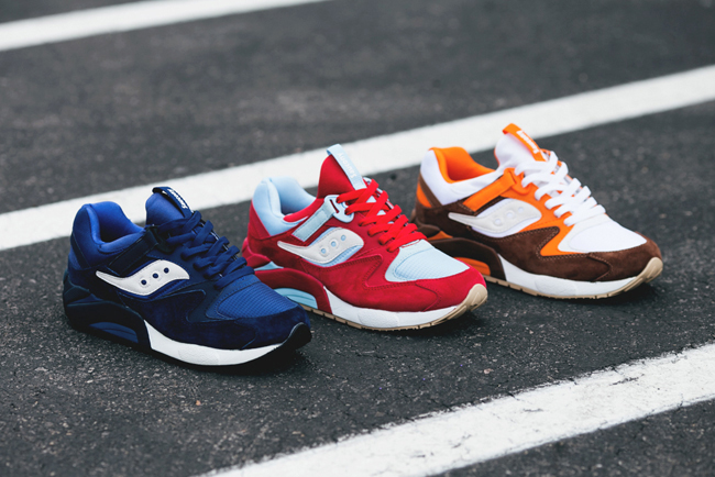 "Image of Saucony Grid 9000 ""Three Rivers"" Pack"