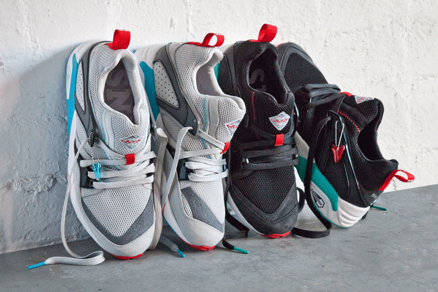 "Image of Sneaker Freaker x PUMA Blaze of Glory ""Shark Attack"" Preview"