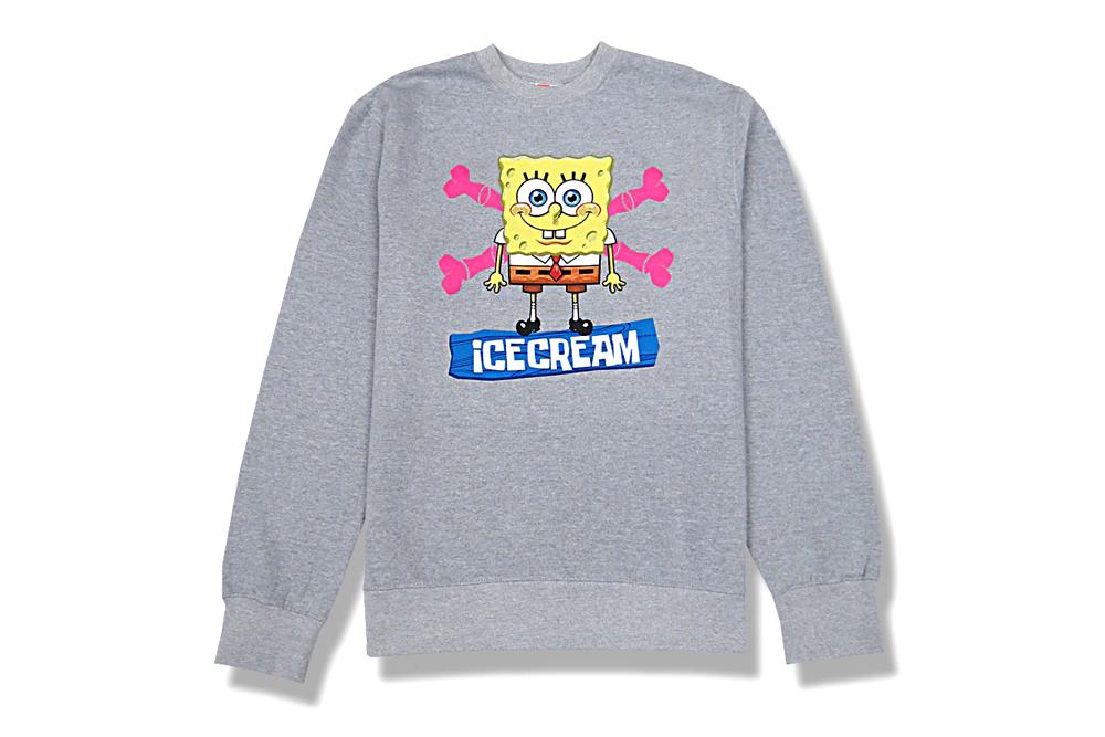 Image of SpongeBob SquarePants x ICECREAM 2013 Capsule Collection