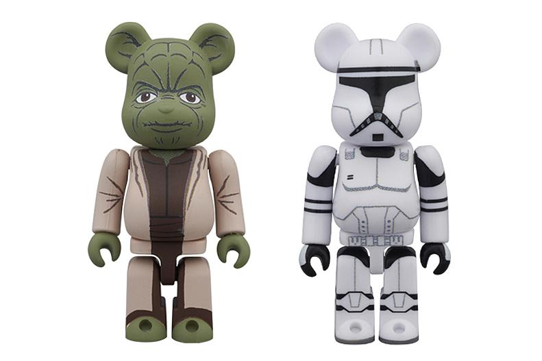 Image of Star Wars x Medicom Toy 2013 100% Bearbrick 2-Packs