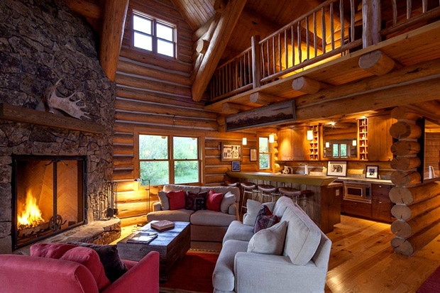Image of Steve McQueen's Idaho Ranch is Up for Sale