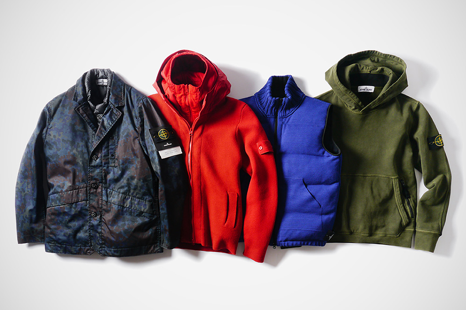 Image of Stone Island 2013 Fall/Winter Outerwear Collection
