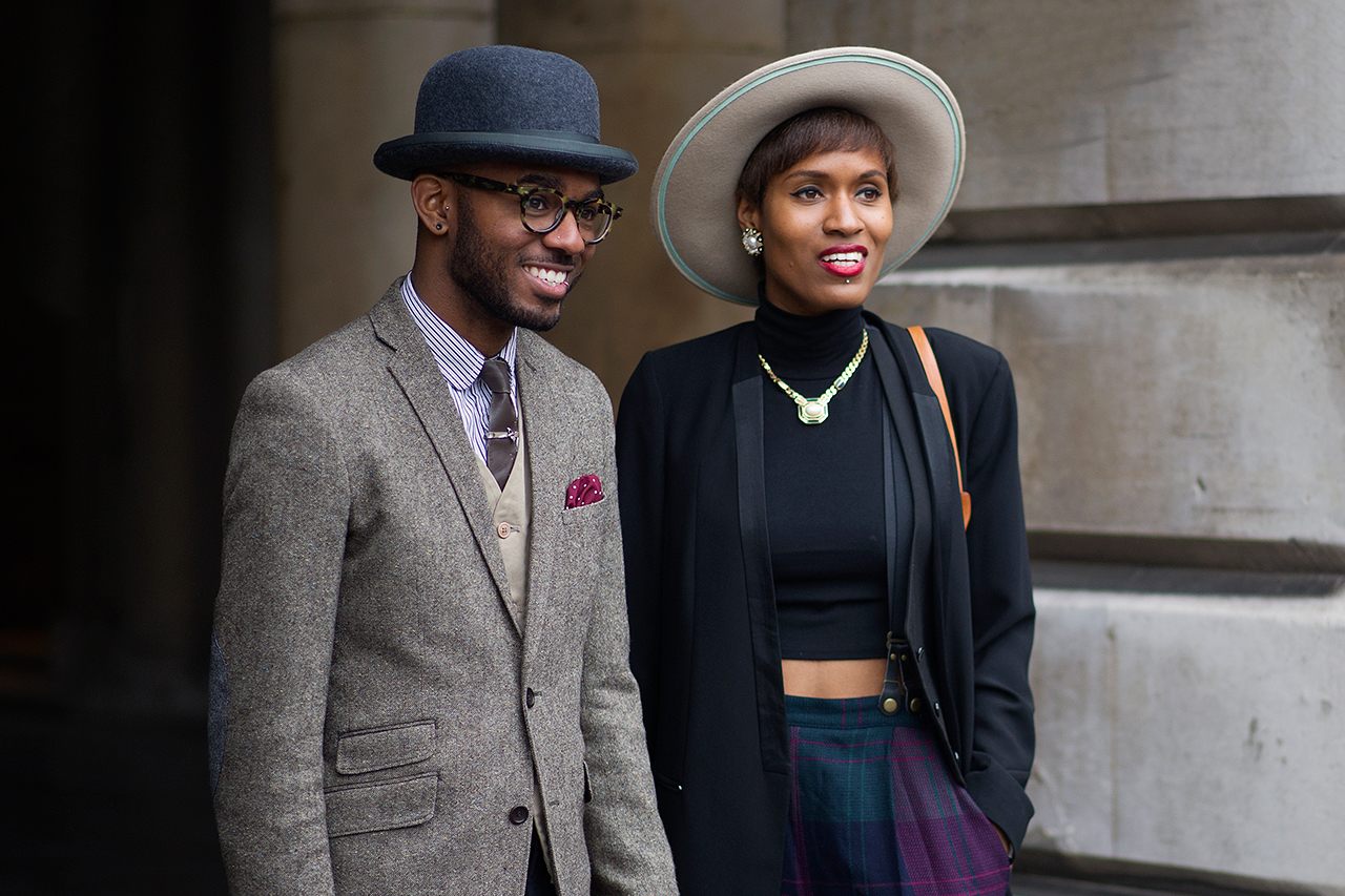Image of Streetsnaps: London Fashion Week September 2013