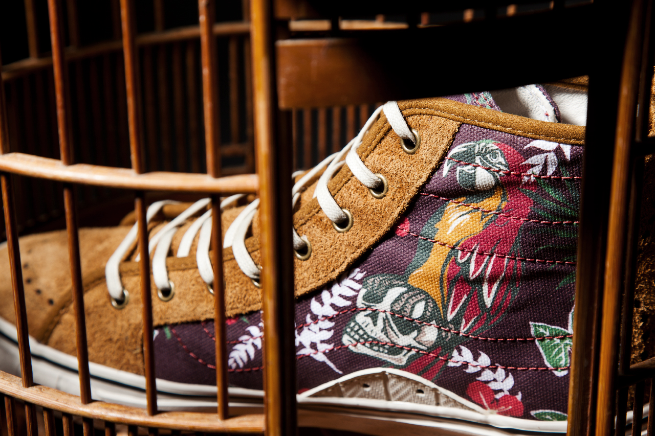 Image of Taka Hayashi x Vans Vault 2013 Fall/Winter TH Court Hi LX