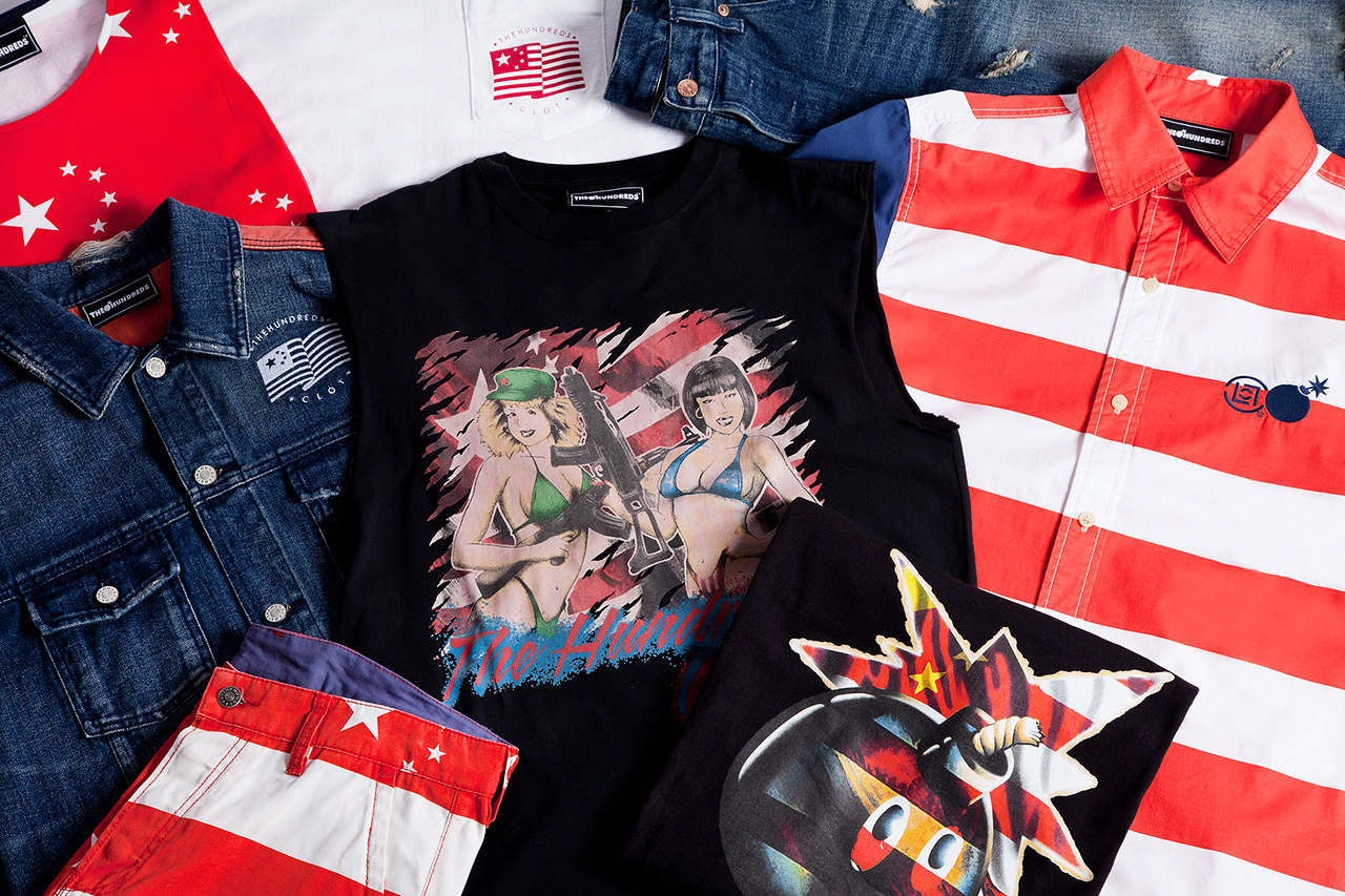 Image of The Hundreds x CLOT Collaboration Collection