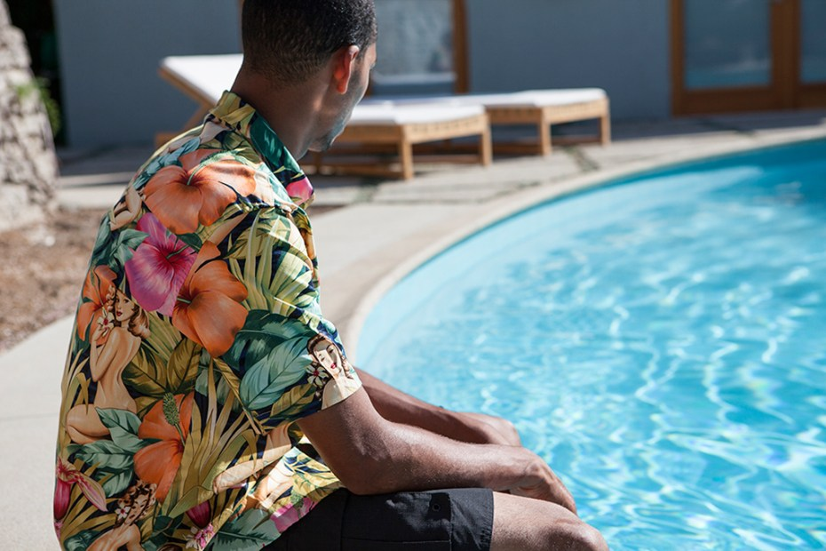 "Image of The Quiet Life 2013 Fall/Winter ""LAST SPLASH"" Mahalo Shirt"
