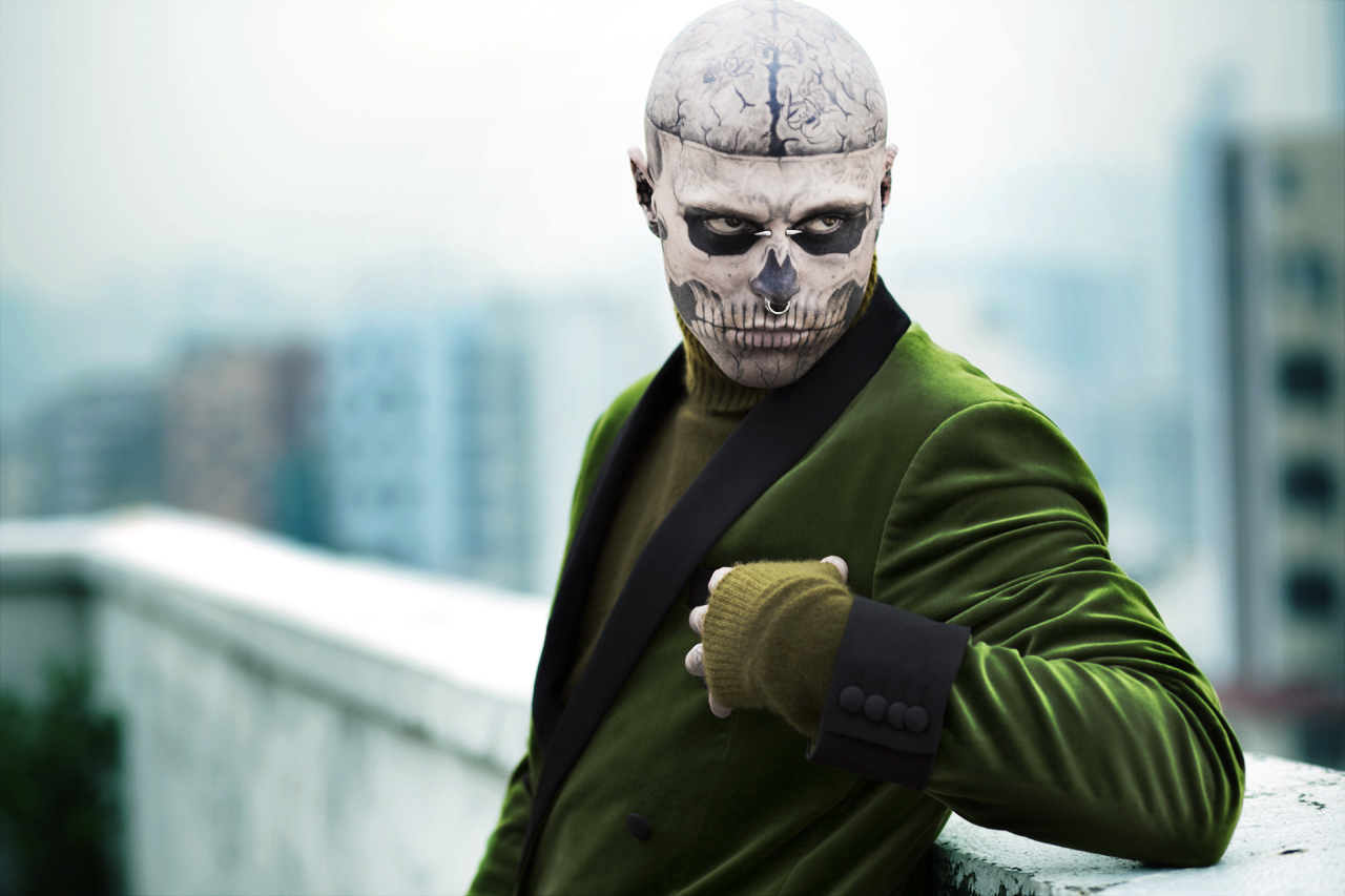 "Image of The ""Restless East"" Editorial by Rick Genest"