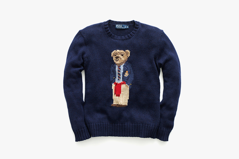 Image of The Return of the Ralph Lauren Polo Bear Sweater