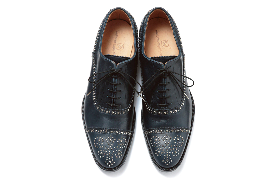 Image of uniform experiment 2013 Fall/Winter STRAIGHT TIP STUDS SHOES