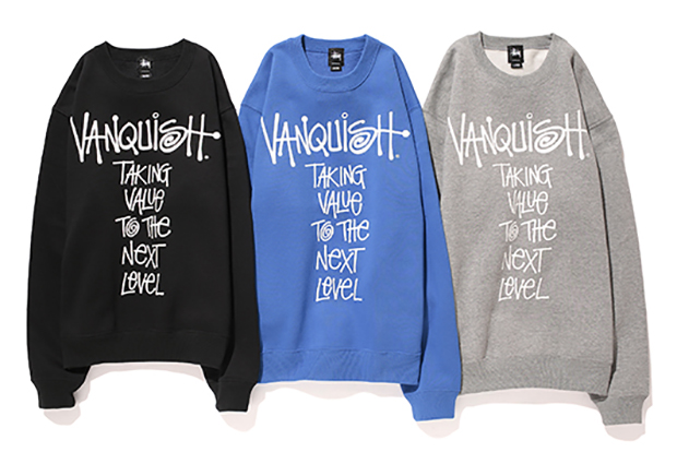 Image of VANQUISH x Stussy 2013 Fall/Winter Message Crew
