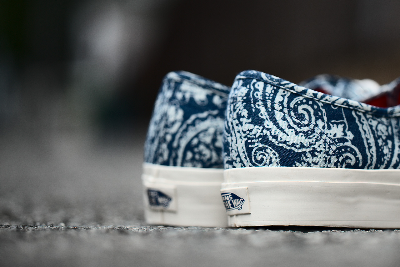 """Image of Vans California 2013 Fall Authentic """"Paisley"""" Pack"""