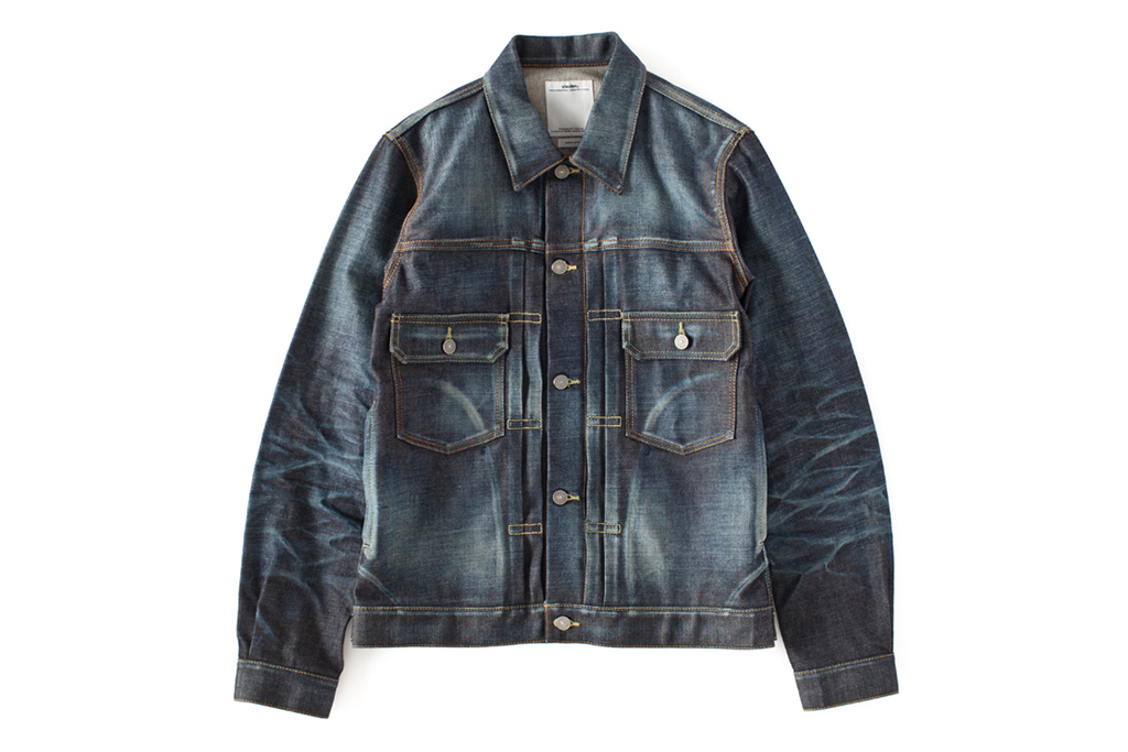 Image of visvim 2013 Fall/Winter SS 101 JKT NON-WASHED *F.I.L. EXCLUSIVE