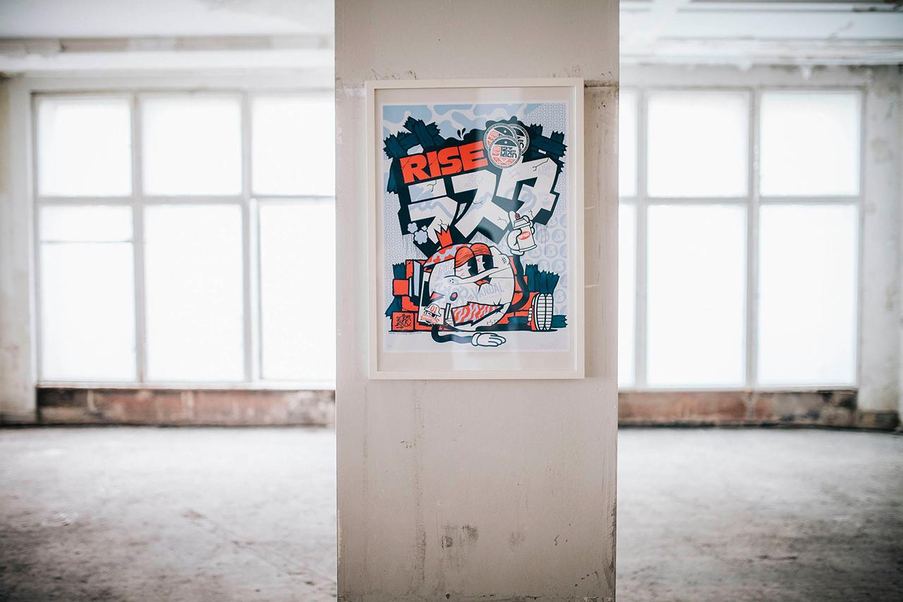 Image of Warsteiner Art Collection Recap featuring Stefan Strumbel, 123Klan, INSA, Aaron De La Cruz, Nychos and Brooke Reidt