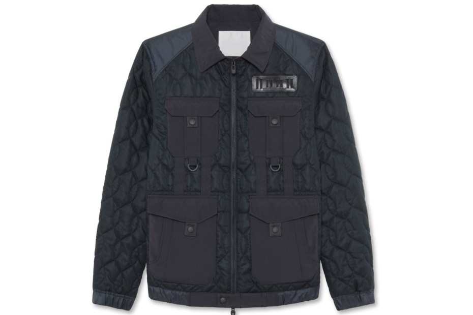 Image of White Mountaineering Cotton Quilted Jacket