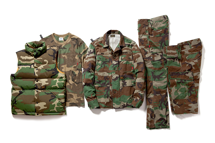 Image of WTAPS 2013 Fall/Winter Woodland Camouflage Collection