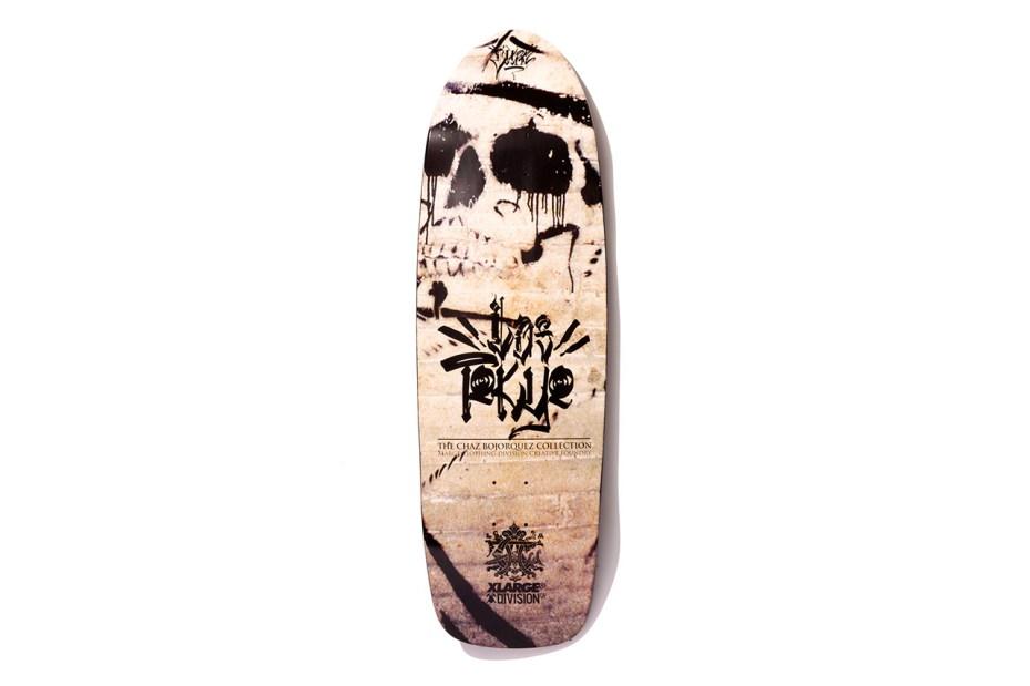 "Image of XLARGE x Chaz Bojorquez x Division Creative Foundry 2013 Fall ""Los Tokyo"" Skate Deck"