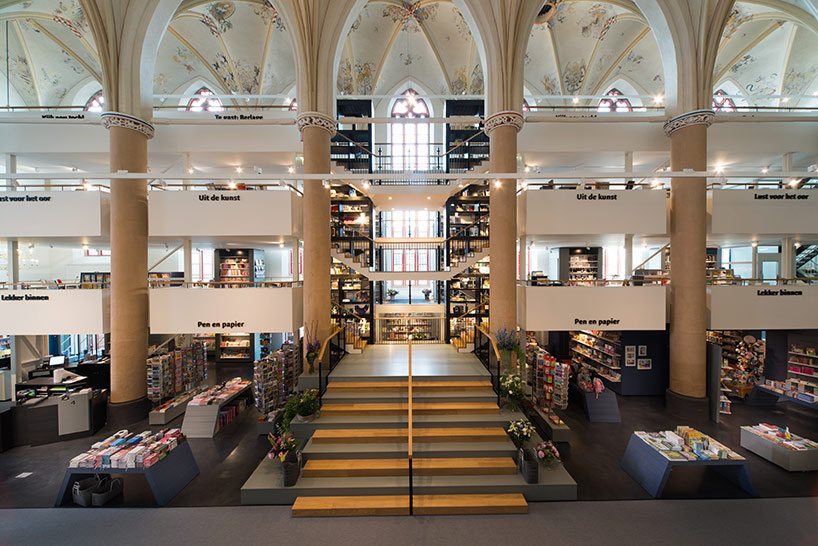 Image of 15th Century Dominican Church Repurposed as a Dazzling Bookstore