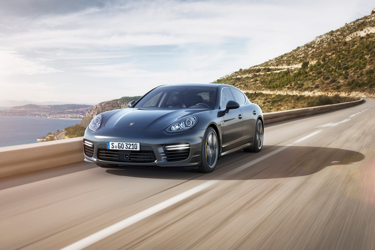 Image of 2014 Porsche Panamera Turbo S