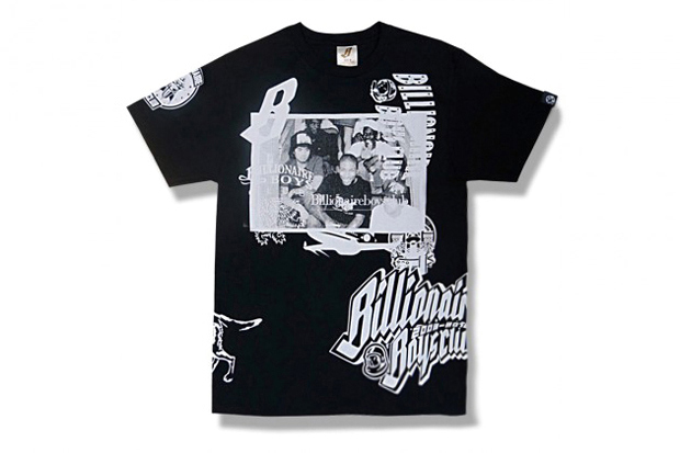 "Image of Billionaire Boys Club 10th Anniversary ""Collage"" T-Shirt"