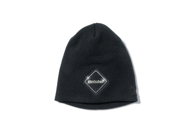 Image of F.C.R.B. x Swarovski x New Era Knit Cap