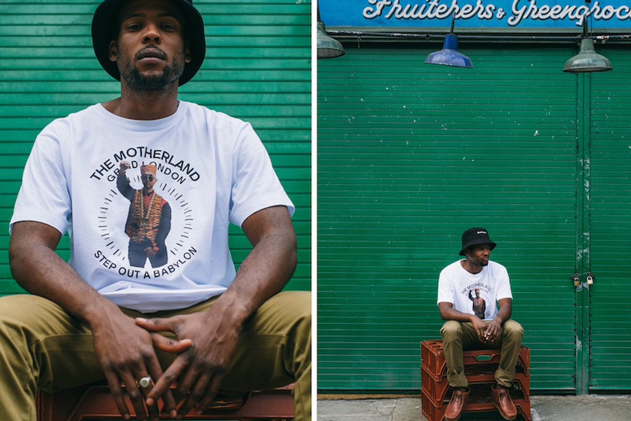 "Image of Grind London ""Jah Bless"" for Breaks Magazine Lookbook"