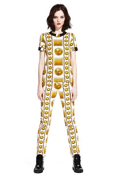 Image of M.I.A. x Versus Versace Lookbook