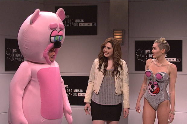 Image of Miley Cyrus Appears On Saturday Night Live