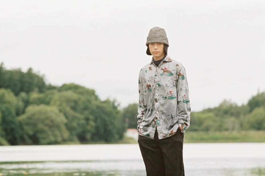 "Image of NEPENTHES 2013 Fall/Winter ""WITH MORGAN"" Editorial"