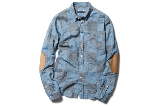 Image of SOPHNET. 2013 Fall/Winter Patch Work B.D Shirt
