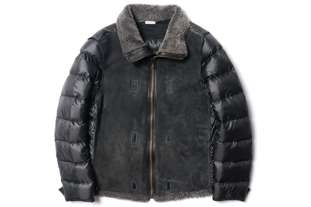 Image of Ten c Shearling Liner Jacket