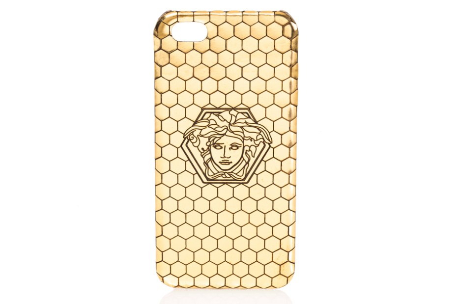 Image of Versace x Haas Brothers Gold iPhone Case